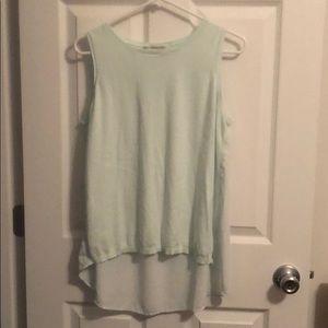LOFT High Low Sleeveless Shirt